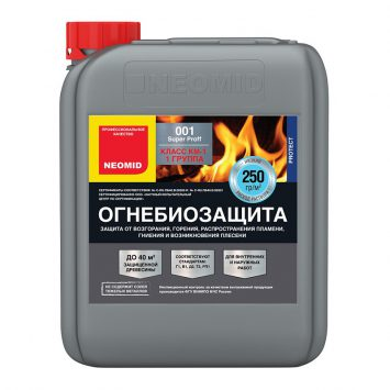 Антисептик огнезащитный Неомид 001 proff