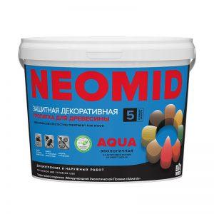 Антисептик декоративный Neomid Bio color aqua